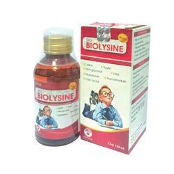 BIOLYSINE hỗ trợ miễn dịch cho bé