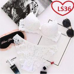 Bộ đồ lót ren lưới nữ cực đẹp LS36 giá sỉ