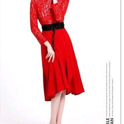 Đầm Ren Đuôi Cá Kèm Nịt giá sỉ