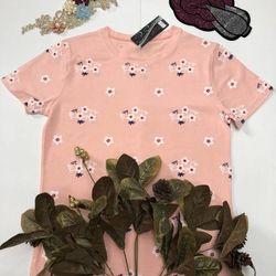 áo thun in nữ hoa nhỏ giá sỉ