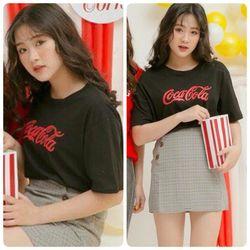 Áo thun croptop coca cola giá sỉ
