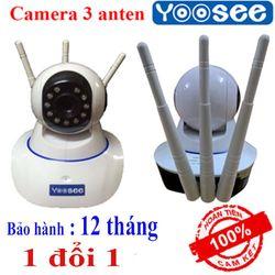 Camera Wifi giám sát 3 râu không dây Yoosee - 10 đèn hồng ngoại quay trong đêm giá sỉ
