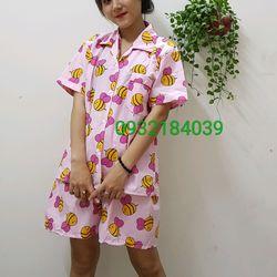 pyjama con ong nam nữ giá sỉ, giá bán buôn