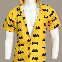 Áo sơ mi nam tay ngắn in họa tiết Batman - C0796 giá sỉ