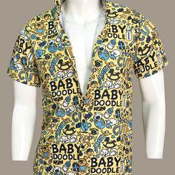 Áo sơ mi nam tay ngắn in họa tiết Baby Doodle - C0797 giá sỉ, giá bán buôn