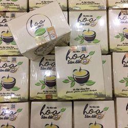 Trùm sỉ trà giảm cân hoa sâm đất giá sỉ