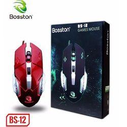 Chuột game có dây Bosston BS12 Led giá sỉ