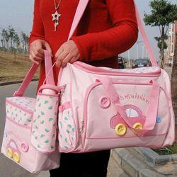 Bộ túi xách 4 chi tiết cho mẹ và bé giá sỉ