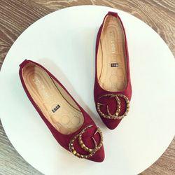 giày bup bê đính đá giá sỉ, giá bán buôn