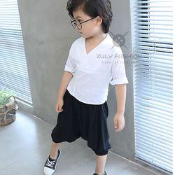 Bỏ sỉ bán buôn set yukata trẻ em vải đũi 2018