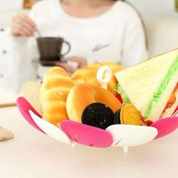 Đĩa đựng hoa quả gấp gọn nhật giá sỉ