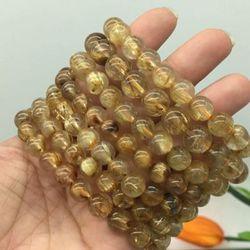 Đá Thạch Anh Tóc Vàng hàng đẹp 9 li giá sỉ