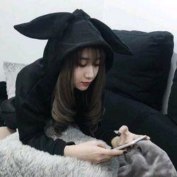 hoodie tai gấu nir ngoại giá sỉ