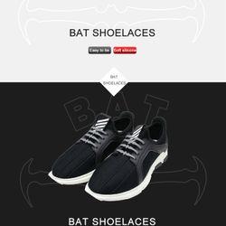 Dây Giày Cao Su Đàn Hồi Tiện Lợi Hình Dơi The Bat Shoelaces giá sỉ