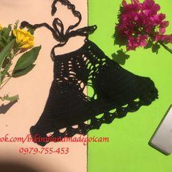 bikini len đen bí ẩn giá sỉ giá sỉ