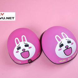 Mũ Bảo Hiểm Thỏ Hồng Thỏ Cony giá sỉ