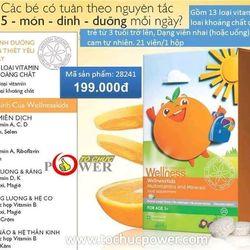 sản phẩm wellness bổ sung vitamin khoáng chất cho bé giá sỉ