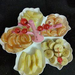Khay đựng hoa quả kèm dĩa Enjoy Life giá sỉ