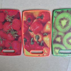 Thớt nhựa 2 mặt hình hoa quả giá sỉ