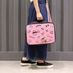 Túi xách du lịch hình đôi môi giá sỉ