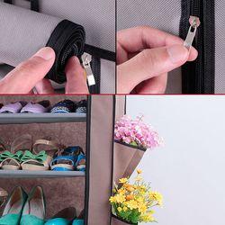 Tủ vải để giày 6 tầng trơn tiện dụng giá sỉ, giá bán buôn