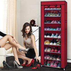 Tủ vải để giày dép 9 tầng giá sỉ