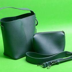Túi xách PU Bucket