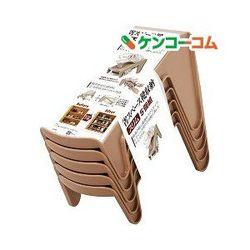Set 5 kệ để giày dép cất gọn màu nâu - Hàng nội địa Nhật - giá sỉ