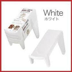 Set 5 kệ để giày dép cất gọn màu trắng - Hàng nội địa Nhật - giá sỉ