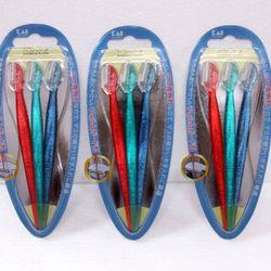 Set 3 dao cạo lông mày cán dài KAI - Hàng nội địa Nhật - giá sỉ