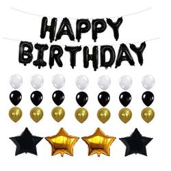combo bộ 3 bóng chữ happy birthday giá sỉ
