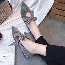 giày bup bê cột nơ giá sỉ