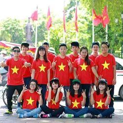 áo thun cờ đỏ sao vàng giá sỉ