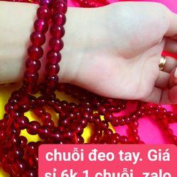 chuỗi đeo tay Giá sỉ 6k 1 chuỗi tổng đơn đặt hàng 500k được tính sỉ hàng luôn có sẵn  lô phong thủy giá rẻ vòng tay phong thủybỏ sỉ trang sức phong thủy giá sỉ