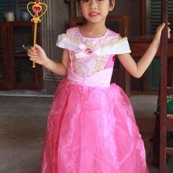 Đầm hoá trang công chúa Aurora cho bé gái giá sỉ, giá bán buôn