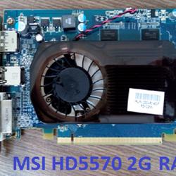Card màn hình 2g ddram3 MSI ATI HD5570