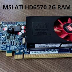 Card màn hình 2g ddram3 MSI ATI Radeon HD6570