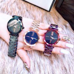 đồng hồ trung cấp inox đặc 34mm giá sỉ