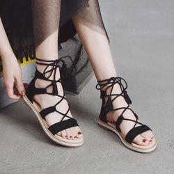 giày sandal cột dây siêu cute giá sỉ