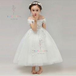 Đầm công chúa sinh nhật 7707 giá sỉ