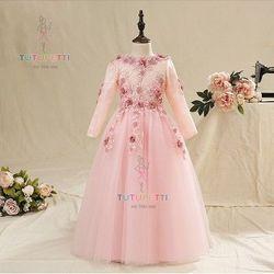 Đầm công chúa xinh xắn 7768 giá sỉ
