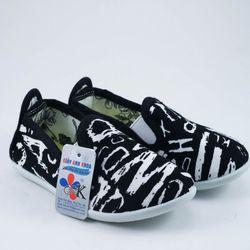 Giày trẻ em AK 15 đen trắng giá sỉ, giá bán buôn
