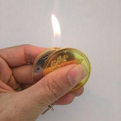 Bật lửa móc khóa đồng tiền giá sỉ