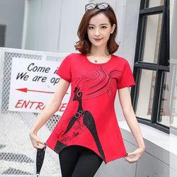 Set bộ lửng đỏ cô gái tóc bay form dài giá sỉ