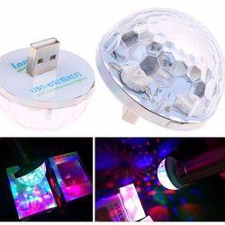 Đèn LED SUNTEK chiếu vũ trường mini cầm tay cảm ứng âm thanhXanh giá sỉ