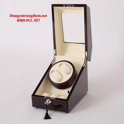 Hộp đựng đồng hồ cơ gỗ 2 xoay 3 trưng bày giá sỉ