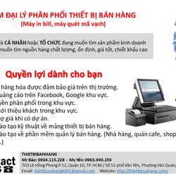 Tìm đại lý phân phối máy in bill Fujitsu máy quét mã vạch trên toàn quốc