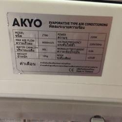 Quạt điều hoà điều hòa AKYO ZT-80 Nhật Bản - 8000m3/h giá sỉ, giá bán buôn