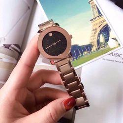 đồng hồ trung cấp dây inox đúc nguyên khối giá sỉ, giá bán buôn