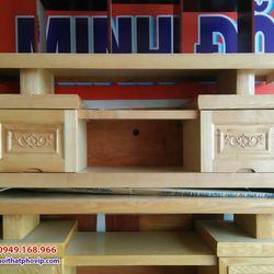 Kệ tivi gỗ Sồi 1m4 mẫu KTVS521 giá sỉ